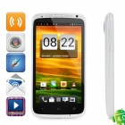 "One XS Android 4.0 WCDMA Barphone w/ 4.7"" Capacitive Screen, GPS, Wi-Fi and Single-SIM - White"