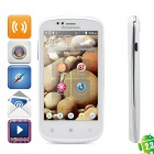 "Lenovo A780 Android 2.3 WCDMA Barphone w/ 4.0"" Capacitive Screen, GPS, Wi-Fi and Dual-SIM - White"