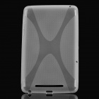 X Style Protective TPU Back Case for Google Nexus 7 - Translucent White