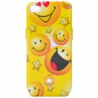 Ultra Thin External 1800mAh Power Battery Back Case for iPhone 4 / 4S - Yellow
