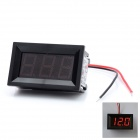 3-Digit Red LED Panel Voltmeter for Car / Electric Motorcycle (DC 4.5~30V)