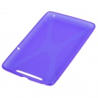 X Style Protective TPU Back Case for Google Nexus 7 - Purple