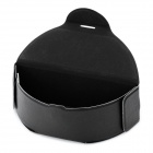 Popular PU Leather Collapse Sunglasses Box - Black