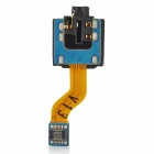 Audio Earphone Jack Flex Cable for Samsung Galaxy Tab P7500 - Black