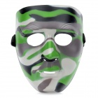 Military Camouflage Pattern ABS Face Mask