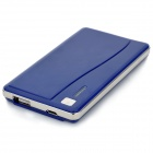 NYF-015 Tragbarer 2500mAh Mobile Power Battery Charger w / Adapter für iPhone / Samsung - Blue