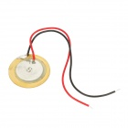 ZX-18T9A1 18mm Piezo Transducer Sound Discs w/ Leads (5PCS)
