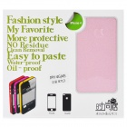 Fashion Glaring Protective Full Body Skin Sticker for iPhone 4 / iPhone 4S - Pink