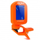 1.2'' LCD Clip-On Tuner for Guitar / Bass / Violin - Orange (1 x CR2032)