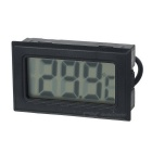"1.5"" LCD digital de indoor / outdoor termômetro - preto (2 * LR44)"