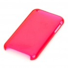 Hard Protective Backside Case for iPhone 3G (Translucent Pink)