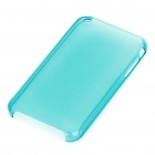 Hard Protective Backside Case for iPhone 3G (Translucent Blue)