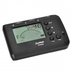 "MT560W 2.1"" LCD Digital Chromatic Metronome / Tuner / Tone Generator for Wind Instrument - Black"
