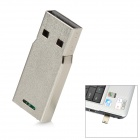 Mini Aluminum USB 2.0 Flash Drive - Silver (4GB)
