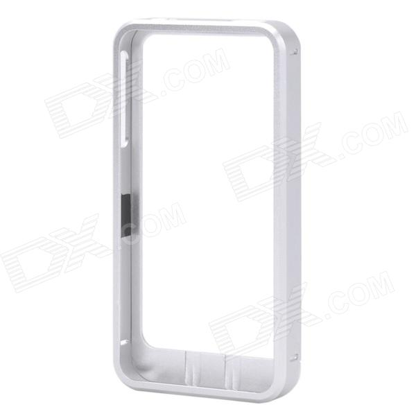 Ultra-Slim Protective Aluminum Alloy Frame Case for Iphone 4 / 4S - Silver
