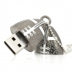 Novedad Rugby Football estilo USB 2.0 Flash Drive - Gris oscuro (32GB)