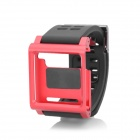 Protective Wrist Watch Band Case for Ipod Nano 6 - Red + Black