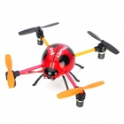Creative 2.4GHz IR Control 4-CH Ladybug Style Flying UFO w/ 3D Gyro - Red + Black + Orange