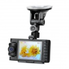 2.8'' LED 2MP Weitwinkel Full HD 1080P Auto-DVD-Camcorder w / TF / Mini USB / Mini-HDMI-