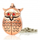 Owl Stil Eisen USB 2.0 Flash Drive - Kupfer (4GB)