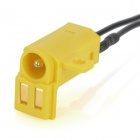 Repair Parts Replacement Charging Jack Port for PSP 1000 - Black + Yellow