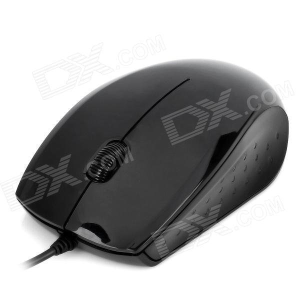 SUNT A231 USB Wired 1000DPI Optical Mouse - Black от DX.com INT