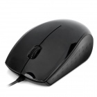 Sunt A231 USB Kabel 1000dpi Optical Mouse - Black