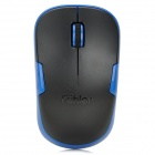 Fuhlen M65 1000dpi 2.4GHz Wireless Optical Mouse - Schwarz + Blau (1 x AA)