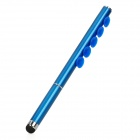 2-in-1 Capacitive Screen Stylus + Ballpoint Pen with Suction Cup for Iphone / Ipad - Blue