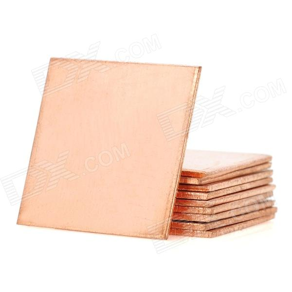 Cooling Heatsink Copper Pad Shims for HP DV2000 / DV3000 / DV9000 - Bronze (10 PCS)