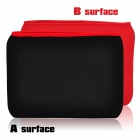 "Stylish Protective Diving Cloth Inner Bag Pouch for Ipad / 9.7"" Tablet PCs - Black + Red"