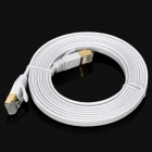 Ultra High-Speed RJ45 to RJ45 Cat.7 Flat Network Cable - White (2m)