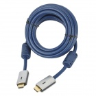 High Speed HDMI Cable for HDTV / XBox / PS3 / STB - Blue (5m)