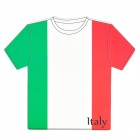 World Cup Jersey for Italy Style Mouse Pad Mat - Red + Green + White