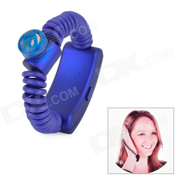FISH 20 Rechargeable Bluetooth v3.0 + HS Wrist Headset - Blue - DXBluetooth Headphones<br>Model FISH 20 Color Blue Type Bluetooth Headset Bluetooth Version v3.0 + HS Ear Coupling Wireless and Bluetooth Talk Time 3 Hour Standby Time 70 Hour Operating Range 10 meter Compatibility v2.1 / v2.0 / v3.0 Microphone Yes Radio N/A Supports Music Format N/A Power Supply Built-in Battery Built-in Battery Capacity 200mAh Other Supports callback function; When call comes in wrist vibration. Packing List 1 x Bluetooth headset (Cable length: 31cm) 1 x USB charger (Cable length: 14cm) 1 x English user manual<br>