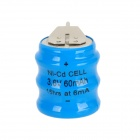 60mAh 3.6V Ni-Cd Cell Battery Pack - Blue