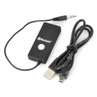BLY-918 USB-driven Bluetooth V2.1 Audio Receiver Dongle - Svart
