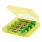 PowerGenix Rechargeable 900mWh 1.6V AAA Ni-Zn Battery - Green (4PCS)