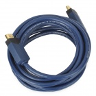High-Definition 1080P / 2160P HDMI 1.4 Cable for HDTV / Xbox / STB - Blue (3m)