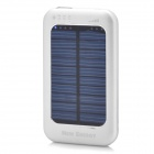 WN-808 3500mAh Portable Solar Powered Panel Charger for iPhone 4 / 4S / iPad 1 / 2 - Silver