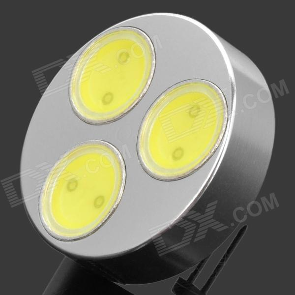 G4 4.5W 420lm 3-LED 6500K Cool White Light Bulb (DC 12V)