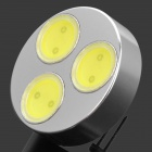 G4 4.5W 6500K 420lm 3-LED White Light Bulb - White (DC 12V)