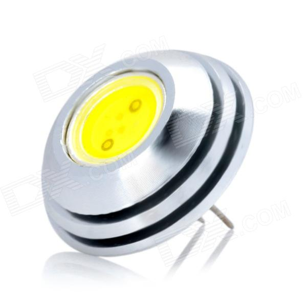 G4 1.5W 6500K 140lm 1-LED White Light Bulb - White (DC 12V)