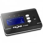 "FT-9000 1.7"" LCD Digital Chromatic Tuner for Guitar / Bass + More - Black + White (2 x AAA)"