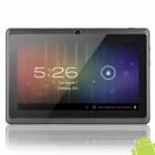 "7"" Capacitive Screen Android Tablet 512MB RAM, 4GB ROM - Black"