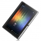 "A13 7"" Capacitive Touch Screen Android 4.1 Tablet PC w/ TF / Camera / Wi-Fi / G-Sensor - Black"
