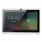A13 7' Capacitive Touch Screen Android 4.0 Tablet PC w/ TF / Camera / Wi-Fi / G-Sensor - White