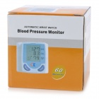 "678 1.6"" LCD Pulsing Scanning and Oscillometric Wrist Watch Blood Pressure Monitor (2 x AA)"
