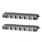 0,18 W 6-LED White Light Car Tagfahrlicht (12V / 2 ST)