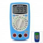 "DT-830LN1 1,5 ""LCD Digital Multimeter - Blau (1 x 9V/6F22)"